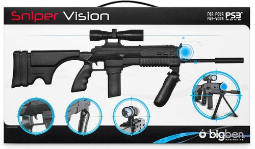 PS3 Move Sniper Gun PlayStation 3 artwork
