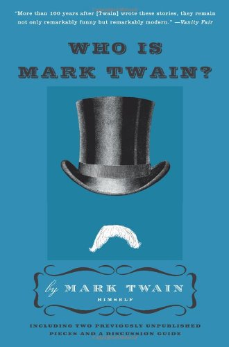 Who Is Mark Twain?   2010 9780061735011 Front Cover