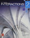 Interactions Level 2 Reading Student Book Plus Registration Code for Connect ESL  6th edition cover