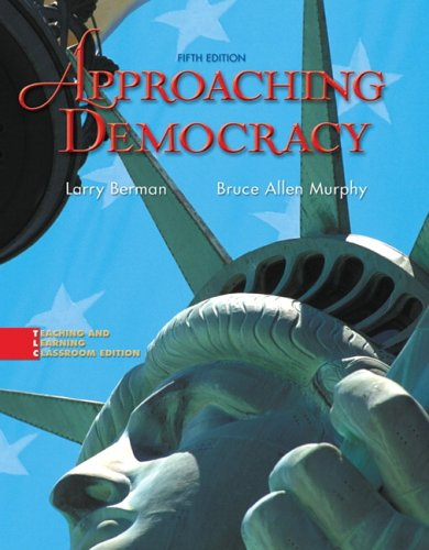 Approaching Democracy  5th 2007 edition cover