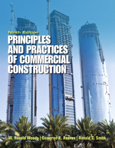 Principles and Practices of Commercial Construction  9th 2014 (Revised) edition cover