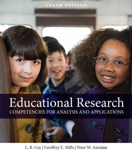 Educational Research Competencies for Analysis and Applications 10th 2012 edition cover
