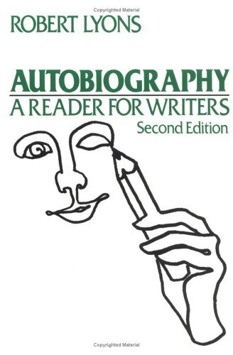 Autobiography A Reader for Writers 2nd 2010 (Revised) edition cover