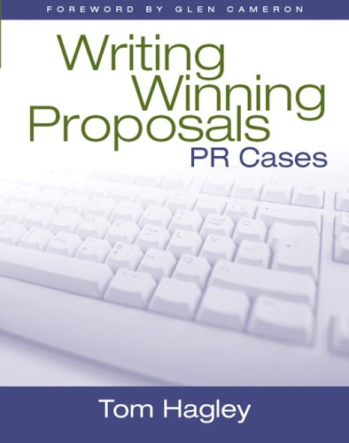 Writing Winning Proposals PR Cases  2006 edition cover