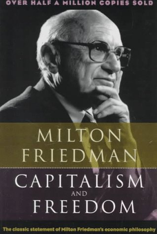 Capitalism and Freedom  Reprint edition cover