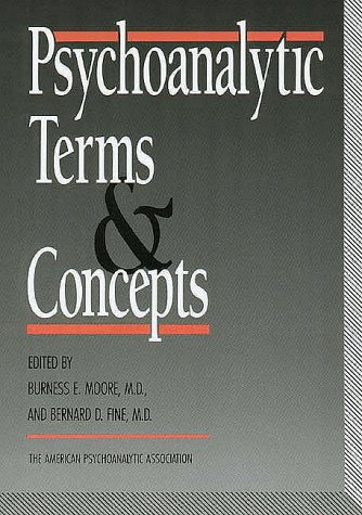 Psychoanalytic Terms and Concepts  3rd 1990 edition cover