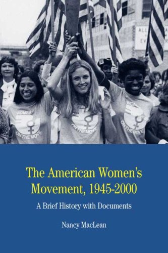 American Women's Movement, 1945-2000 A Brief History with Documents  2009 edition cover