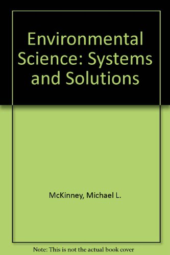 Environmental Science Systems and Solutions  1996 9780314064011 Front Cover