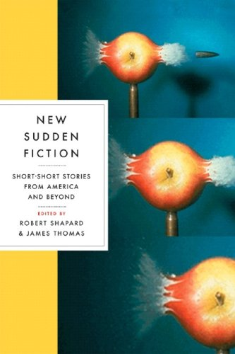 New Sudden Fiction Short-Short Stories from America and Beyond  2007 edition cover