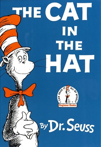 Cat in the Hat   1985 (Large Type) 9780394800011 Front Cover