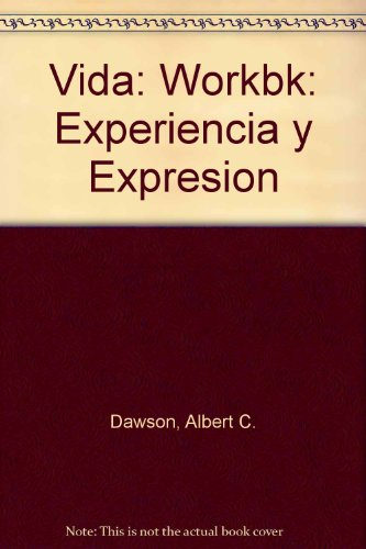 Vida Experiencia y Expresion  1989 (Student Manual, Study Guide, etc.) 9780471624011 Front Cover