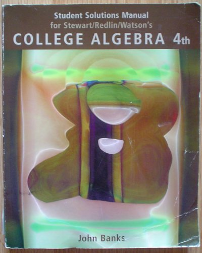 College Algebra  4th 2004 9780534406011 Front Cover