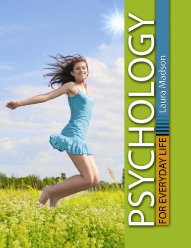 Psychology for Everyday Life   2010 (Revised) 9780757579011 Front Cover