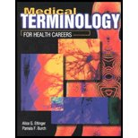 Medical Terminology for Health Careers 1st 9780763802011 Front Cover