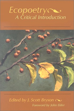 Ecopoetry A Critical Introduction  2002 edition cover