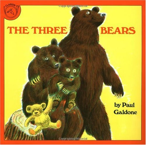Three Bears   1985 edition cover