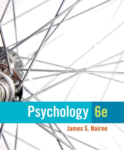 Psychology  6th 2014 edition cover