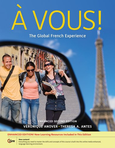 A Vous!: The Global French Experience 2nd 2013 edition cover