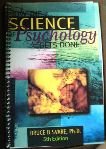 HOW THE SCIENCE OF PSYCHOLOGY. N/A 9781285008011 Front Cover