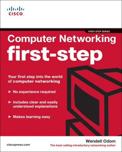 Computer Networking First-Step   2004 edition cover