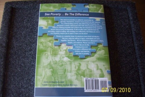 See Poverty, Be the Difference 2nd edition cover