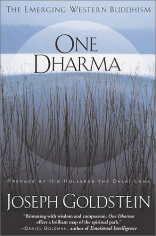 One Dharma The Emerging Western Buddhism  2002 edition cover