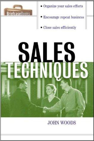 Sales Techniques   2004 edition cover