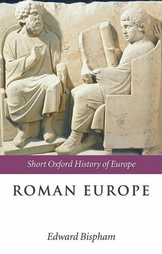 Roman Europe   2008 9780199266012 Front Cover