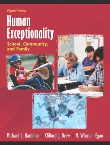 Human Exceptionality School, Community, and Family 8th 2005 9780205406012 Front Cover