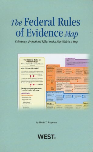 Federal Rules of Evidence Map 2012-2013  Revised edition cover