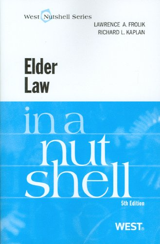Elder Law in a Nutshell  5th 2010 (Revised) edition cover