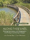 Along These Lines: Writing Sentences and Paragraphs With Writing from Reading Strategies  2015 edition cover