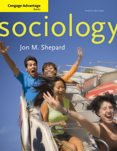 Cengage Advantage Books: Sociology  10th 2010 edition cover