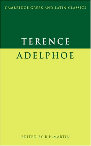 Terence Adelphoe  1976 edition cover