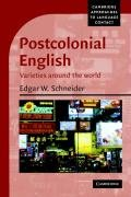 Postcolonial English Varieties Around the World  2007 edition cover