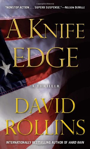 Knife Edge A Thriller N/A 9780553590012 Front Cover