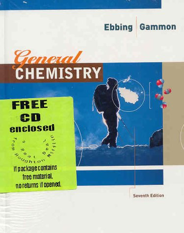 General Chemistry : Text with Student Technology Package 7th 2002 9780618141012 Front Cover
