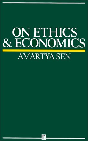 On Ethics and Economics   1988 edition cover