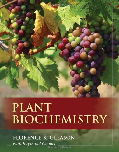 Plant Biochemistry   2012 (Revised) 9780763764012 Front Cover
