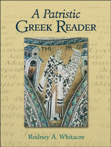 Patristic Greek Reader  N/A edition cover