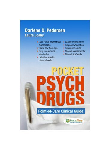 Pocket Psych Drugs Point-of-Care Clinical Guide  2009 (Revised) edition cover
