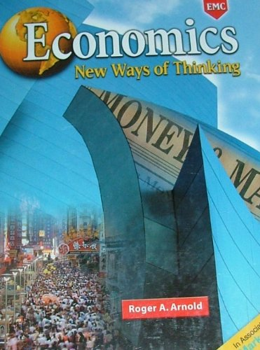 Economics : New Ways of Thinking N/A edition cover
