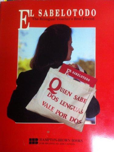 Sabelotodo The Bilingual Teacher's Best Friend N/A edition cover
