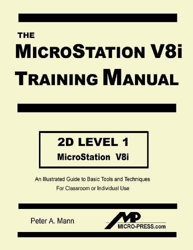MICROSTATION V8I TRAINING MANU N/A 9780978131012 Front Cover