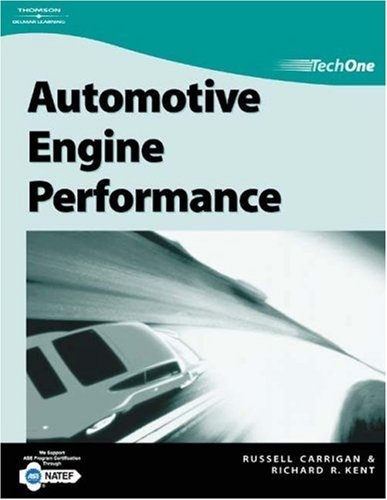 Automotive Engine Performance   2005 edition cover