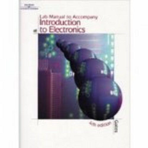 Introduction to Electronics  5th 2007 (Lab Manual) 9781401889012 Front Cover