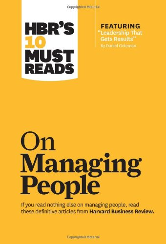 On Managing People   2011 edition cover