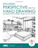 Exploring Perspective Hand Drawing Second Edition  N/A 9781585039012 Front Cover