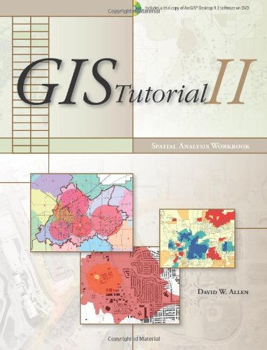GIS Tutorial II Spatial Analysis Workbook  2009 edition cover