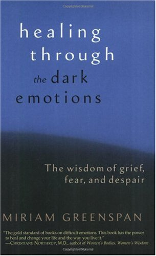 Healing Through the Dark Emotions The Wisdom of Grief, Fear, and Despair  2004 edition cover